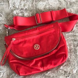 Lululemon Red Festival Crossbody Bag